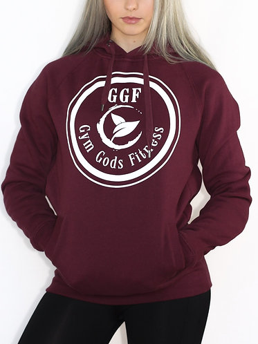 GGF Women's Hooded Jumper - Burgundy