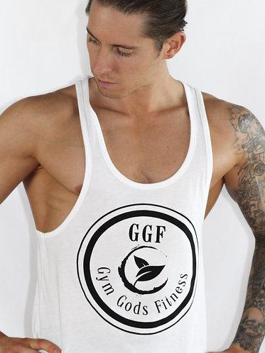 GGF Men's Stringer Vest - White