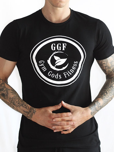 GGF Men's Muscle Fit T-Shirt - Black
