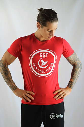 GGF Men's Muscle Fit T-Shirt - Red