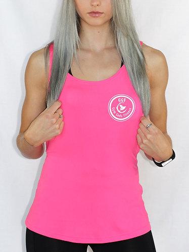 GGF Women's Loose Fit Vest - Pink