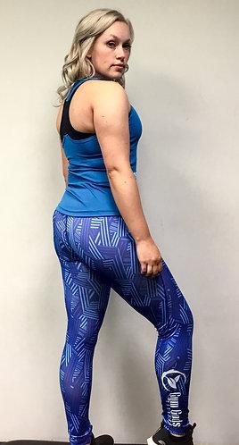 GGF Women's Leggings - Blue