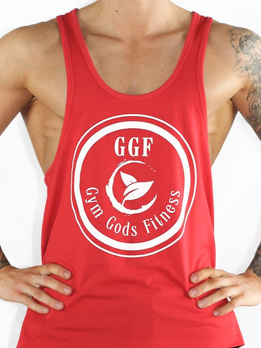 GGF Men's Stringer Vest - Red