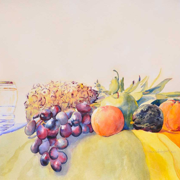 Fruits_Watercolor