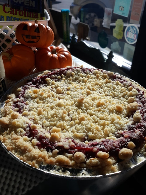 Cranberry Streusel Cheesecake