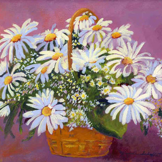 Daisies Two_Acrylic