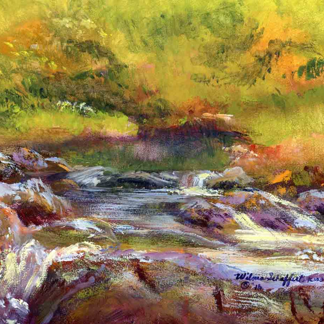 Hot Springs N P Gulpha Creek_Acrylic