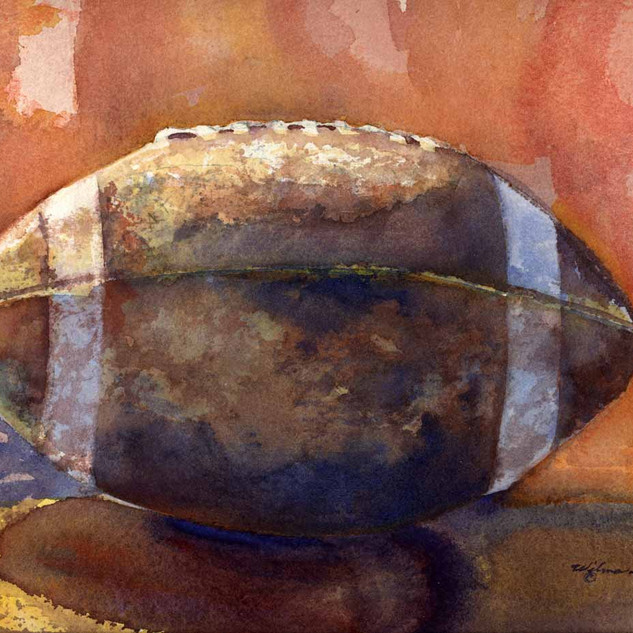 Football_Watercolor