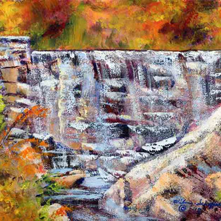 Natural Bridge State Park_Acrylic