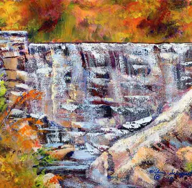 Natural Bridge State Park_Acrylic