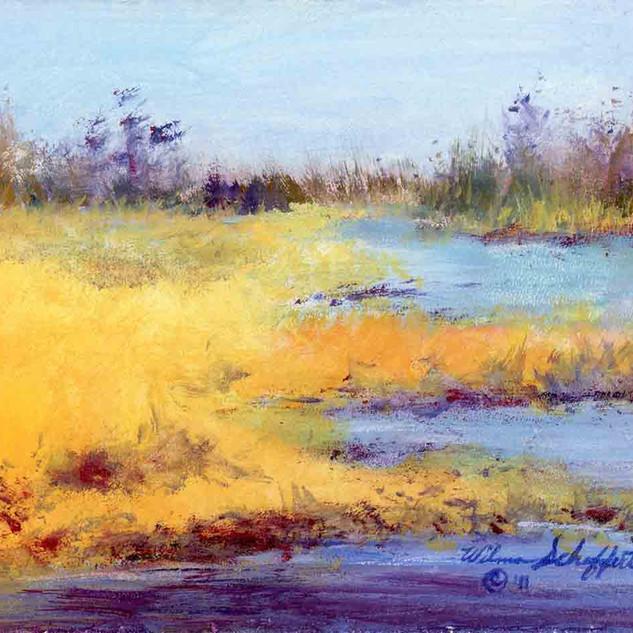 Late PM Platte River NE_Acrylic