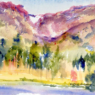 Sprague Lake AM Rocky Mountain National Park Two