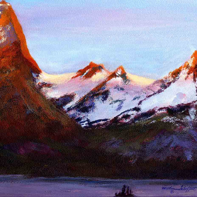 Glacier N P Two_Acrylic
