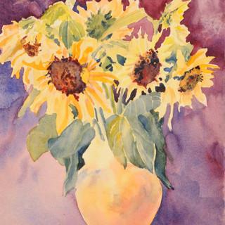Sunflowers Two_W/c
