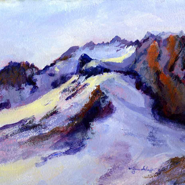 Mt Hood OR Plein Air_Acrylic