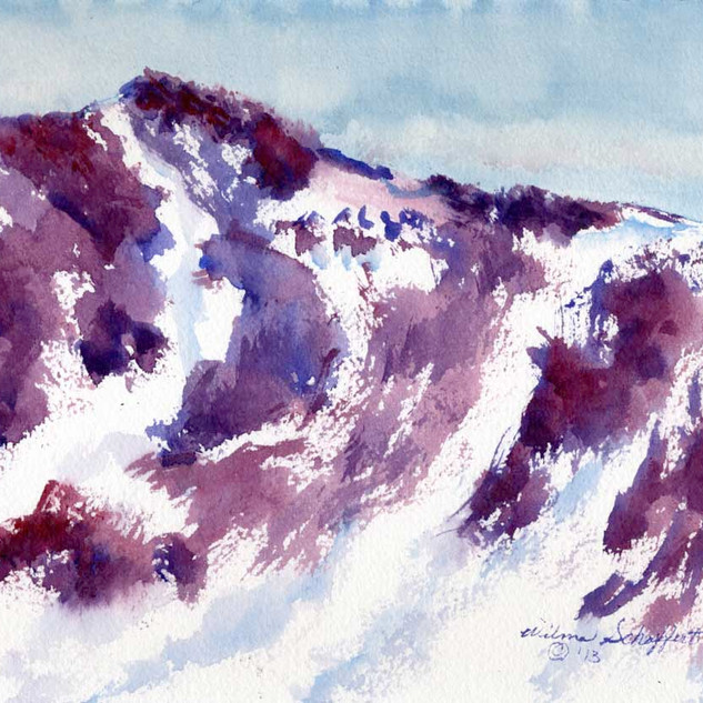 Independence Pass CO _Watercolor