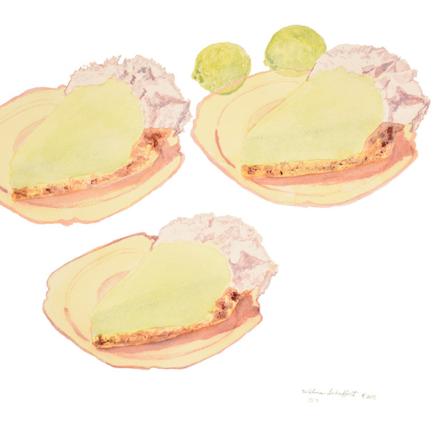 Key Lime Pie_Watercolor