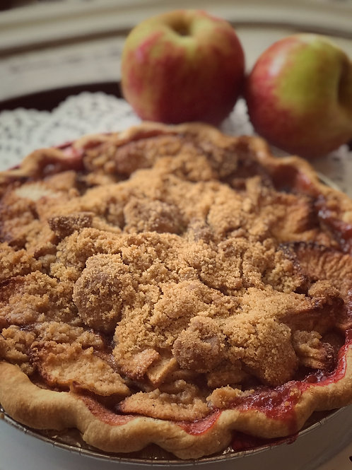 No Sugar Added Apple Crumb