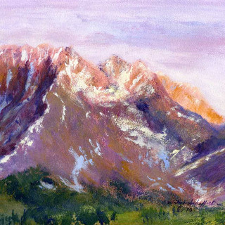 Cottonwood Pass Looking North_Acrylic