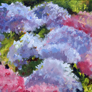 Hydrangeas_Acrylic