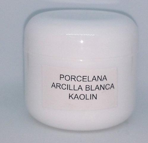 Arcilla Blanca o Porcelana