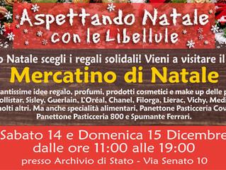 Aspettando il Natale 2019 con le Libellule, Mercatino Solidale natalizio
