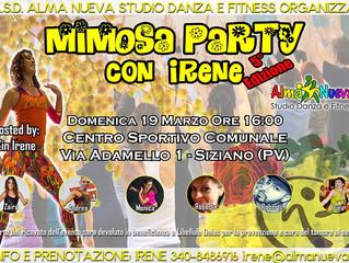 Mimosa Party 19 marzo: balliamo per solidarietà!