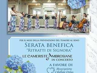 Le Cameriste Ambrosiane in concerto, serata benefica
