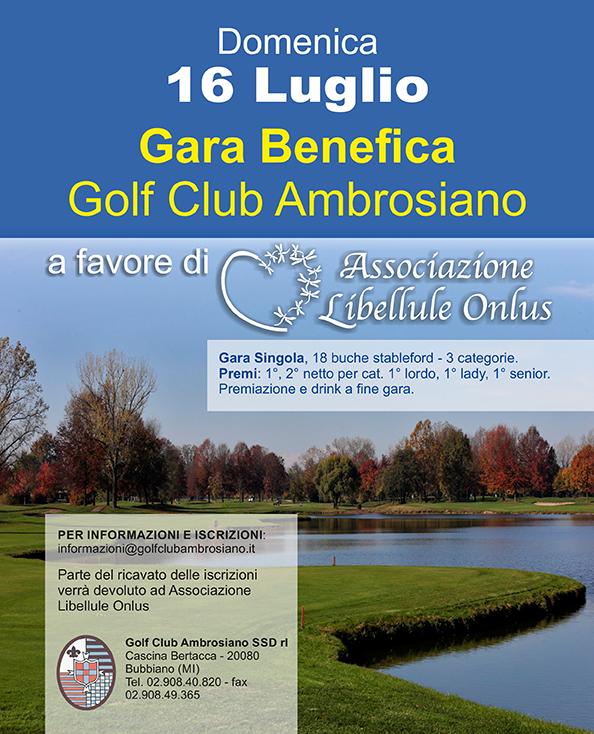 Golf Ambrosiano e Libellule Onlus