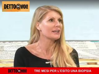 La Dott.ssa Paola Martinoni a Detto Da Voi: la prevenzione è fondamentale, no ai tempi da attesa lun