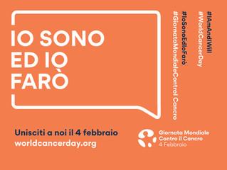 4 febbraio 2019, Giornata Mondiale contro il cancro