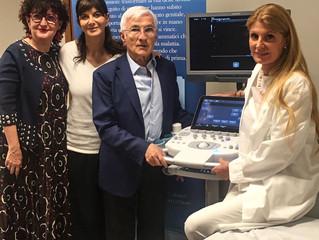Il nuovo Ecografo di diagnostica avanzata che salva la vita delle donne