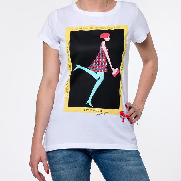 DEMEOT-shirt Nenette