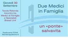 """Due Medici in Famiglia, un """"ponte"""" salvavita"""