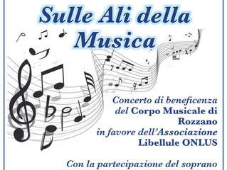 Concerto di beneficenza al Cinema Teatro Fellini di Rozzano: Sulle Ali della Musica