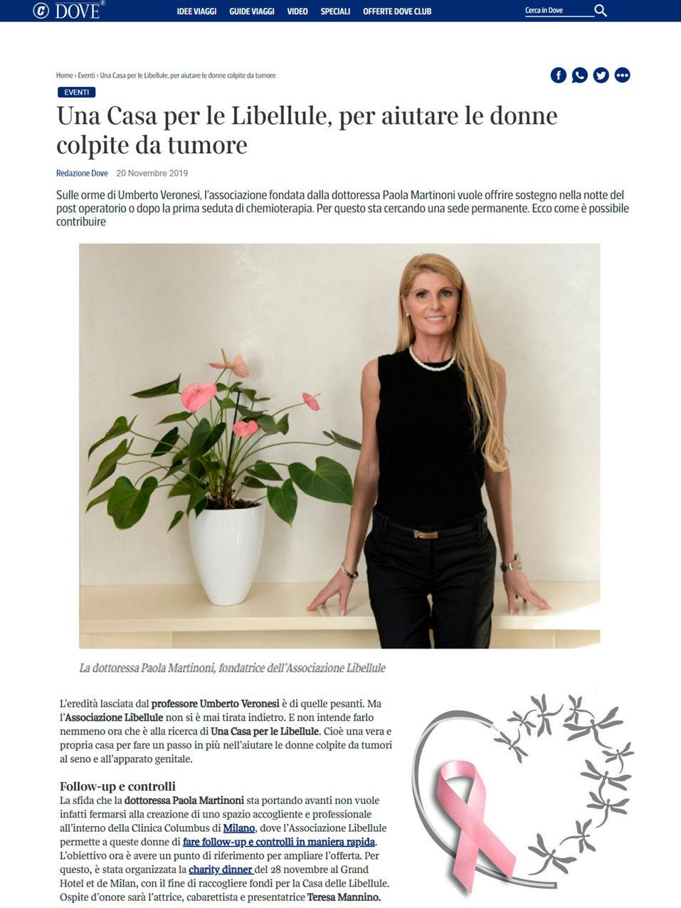 Dove Corriere.it -  29.11.19