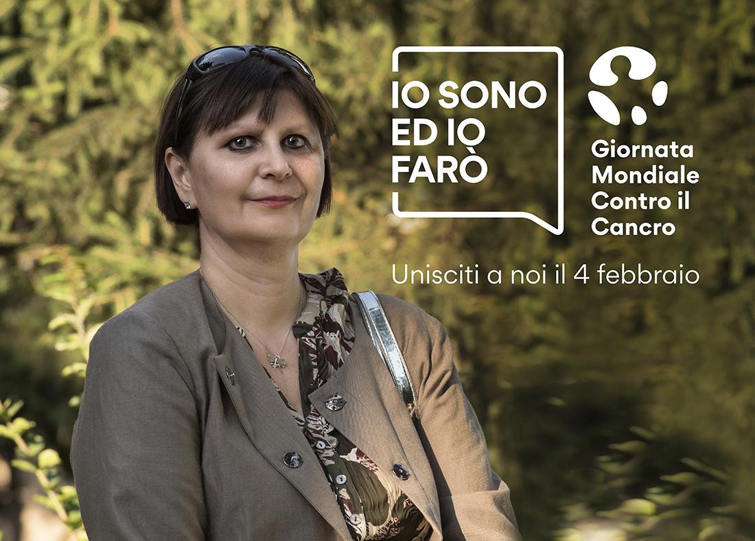 Lorena Goldin  per il World Cancer Day