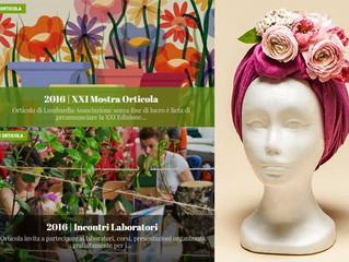 """""""Turbante in Fiore"""" all'Orticola, IO Donna a sostegno di Associazione Libellule Onlus"""