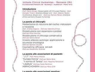 26 Ottobre, partecipa al BRA DAY, Humanitas Rozzano