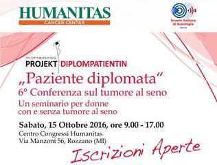 6° Conferenza Paziente Diplomata