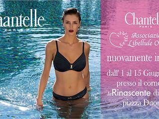 Chantelle e Associazione Libellule di nuovo insieme!