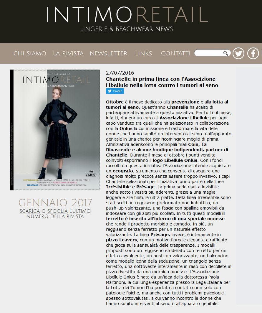 Intimo retail - 27.07.16
