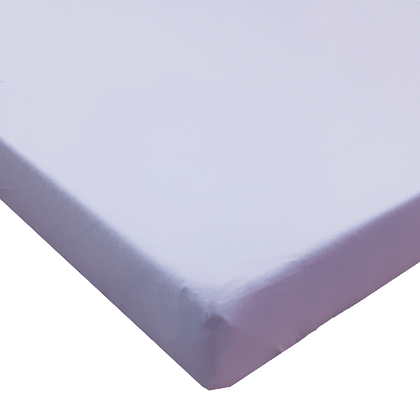 סדין טריקו ללול (מתאים למיטות מטר) - סגול חלק