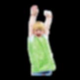 ילד עם סינר יצירה / גן