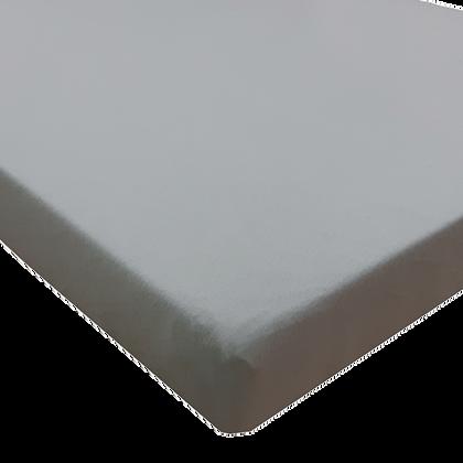 סדין טריקו ללול (מתאים למיטות מטר) - אפור חלק