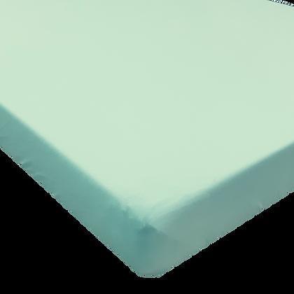 סדין טריקו ג'רסי Jersey למיטת תינוק/מעבר 130/70 - חלק כחול שמיים