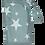 Thumbnail: סינר הנקה 100% כותנה - כוכב אפור