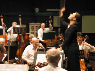 Talia Ilan/ the Campus Symphony Orchestra