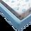 סט מצעים למיטת מעבר - מגדלור תכלת