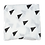Thumbnail: שמיכה / חיתול במבוק -  רך וגדול במיוחד 120/120 - משלושים שחורים